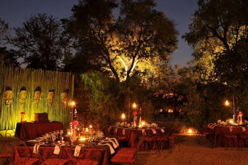 Sabi Sand Private Game Reserve HOTELサビサンド私営動物保護区 ホテルサビ サビ ブッシュ ロッジ(南アフリカ・サビサンド私営動物保護区)